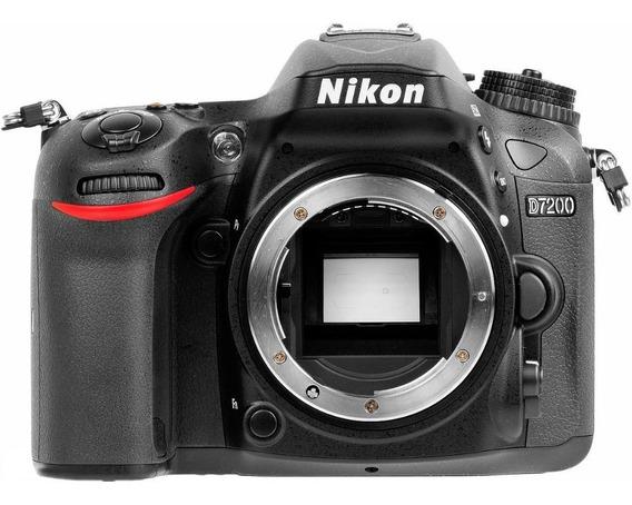 Nikon D7200 Body Casi Nueva Gtia! Tomo Equipos En Pago