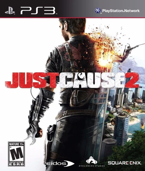 Just Cause 2 Ps3 Usado Original Mídia Fisica Play