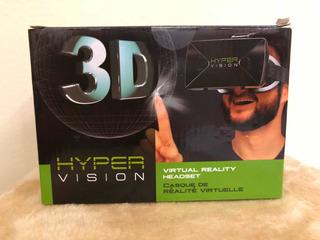 Óculos De Realidade Virtual 3d 360 Graus