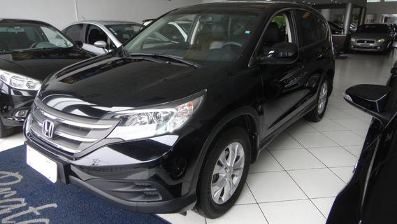 Honda Cr-v Lx 2.0 Aut 2013, Pneus Novos, Couro, Periciada