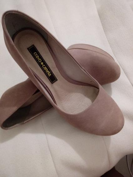 Sapato Cravo E Canela Rose