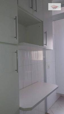 Apartamento Com 3 Dormitórios Para Alugar, 62 M² Por R$ 1.500/mês - Vila Yara - Osasco/sp - Ap1962