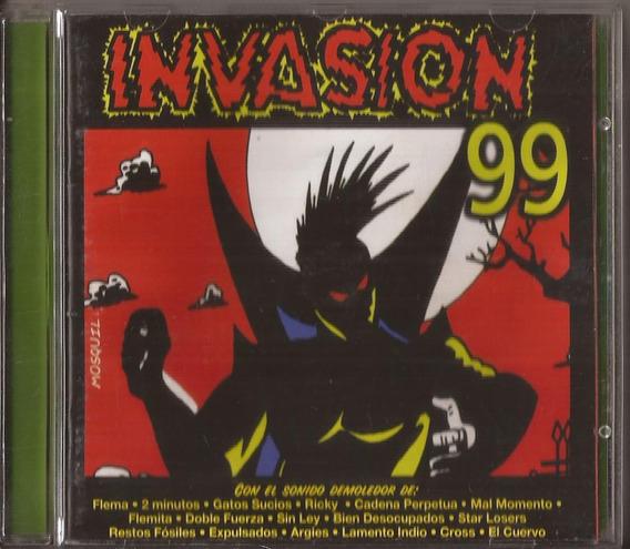 Invasion 99 Cd Flema Cadena Perpetua Mal Momento 2 Minutos