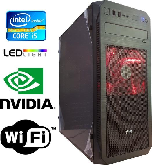Cpu Gamer Core I5 Geforce 2gb Hd 500gb 8gb Ram Wifi Csgo Lol