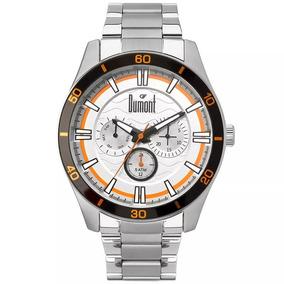 Relógio Dumont Masculino Du6p29acc/3k Com Nf