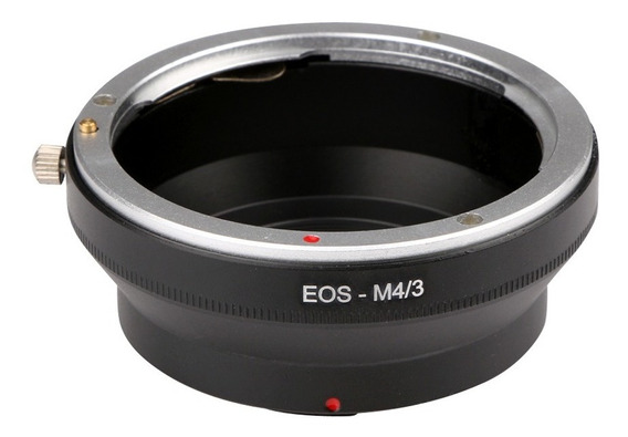 Anel Adaptador Lente Canon Ef Ef-s Eos-m43 M4/3 Panasonic G1