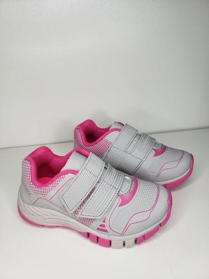 Tênis Feminino Infantil Kidy Flex 164-1260 Marinho Pink