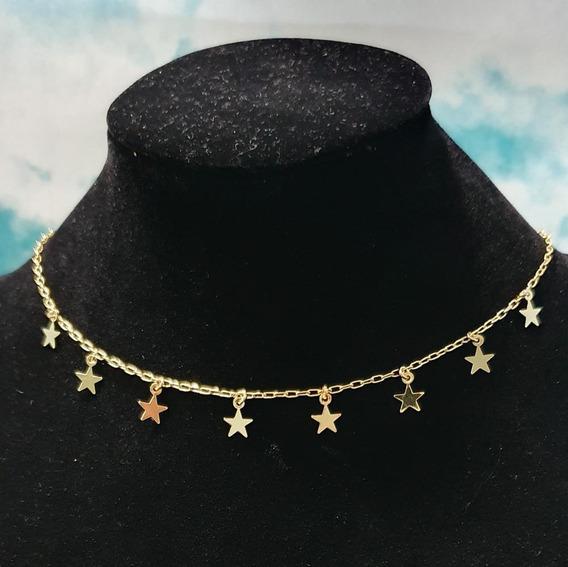 Collar Estrellas Doradas
