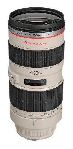 Lente Profissional Canon Ef 70-200mm F/2.8l Usm Zoom