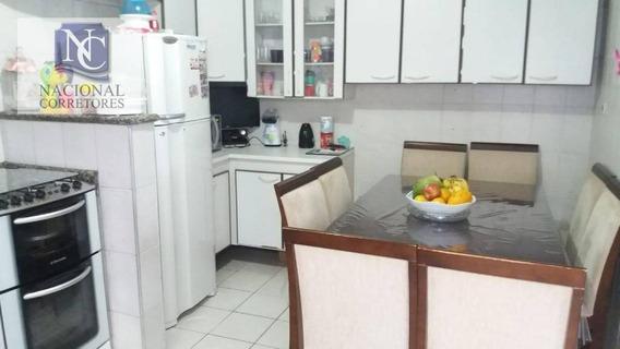 Casa Com 2 Dormitórios À Venda, 95 M² Por R$ 250.000,00 - Parque Novo Oratório - Santo André/sp - Ca2476