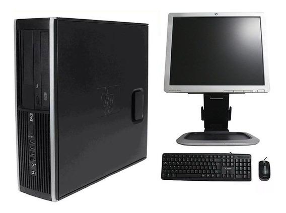 Computador Hp Elite 8300 I3 8gb 320gb Monitor 17 Polegadas