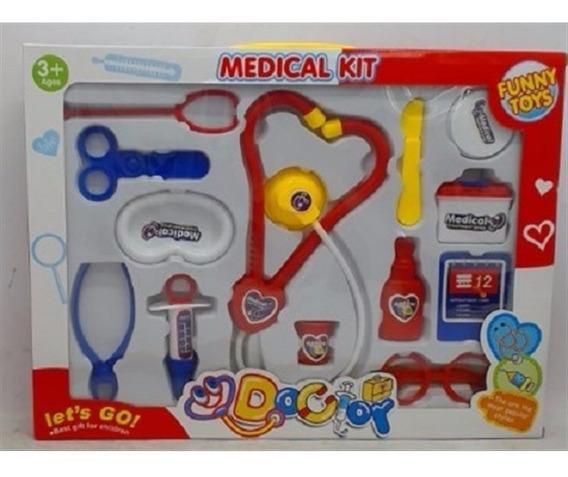 Medico Enfermeiro Infantil Primeiros Socorros Brinquedo Luxo
