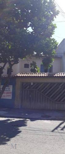Imagem 1 de 14 de Sobrado Com 3 Dormitórios À Venda, 194 M² Por R$ 420.000,00 - Jardim Rina - Santo André/sp - So0349