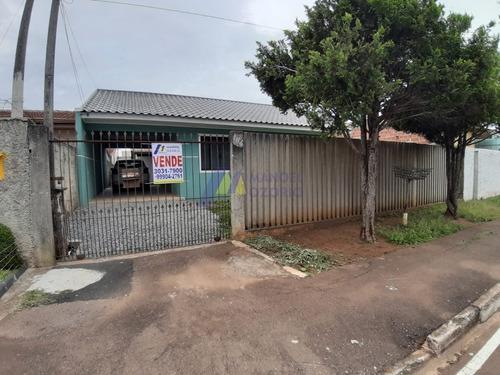 Terreno Com 2 Casas Em Araucária - 173