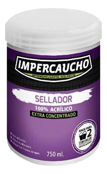 Sellador Extra Concentrado Acrílico 750ml Impercaucho
