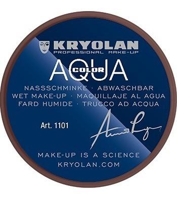 Maquillaje Compacto Pintura Corporal Aquacolor 8ml Kryolan