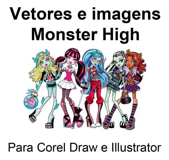 Vetores Monster High Para Corel Draw E Illustrator 4