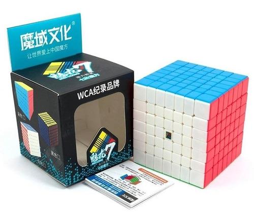 Imagem 1 de 5 de Cubo Mágico 7x7x7 Moyu Meilong 7 Colorido Pronta Entrega
