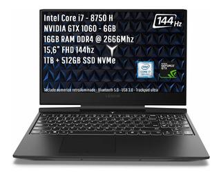 Lenovo Legion Y7000 | I7-8750h 16gb Gtx1060 144hz 1tb+512g