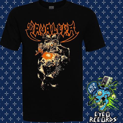 Imagen 1 de 3 de Cavalera -  Beneath The Arise - Metal - Polera- Cyco Records