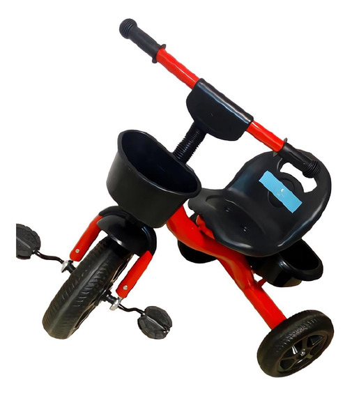 Triciclo Infantil Reforzado Con Canasto Pedal Lullaby P