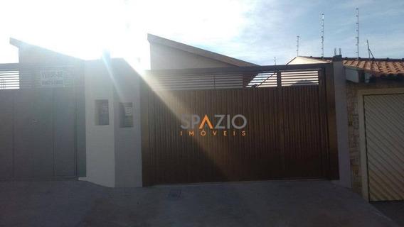 Casa Residencial À Venda, Vila Paulista, Rio Claro. - Ca0171