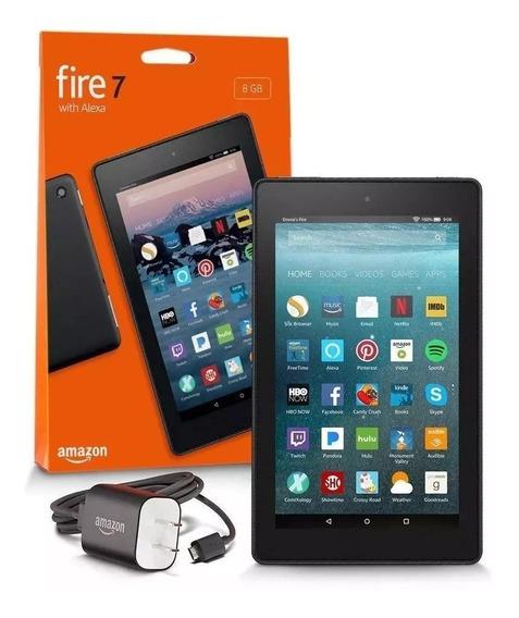 Tablet Amazon Fire Hd7 8gb 7 Alexa Bat 12horas Promoção