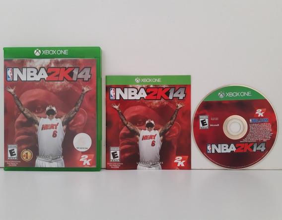 Nba2k 14 Xbox One Mídia Física Original Completo