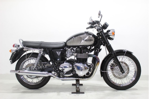 Triumph Bonneville T 100 865 2015 Preta