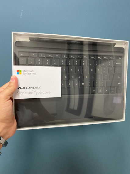 Teclado Microsoft Surface Pro 6. Preto Alcântara
