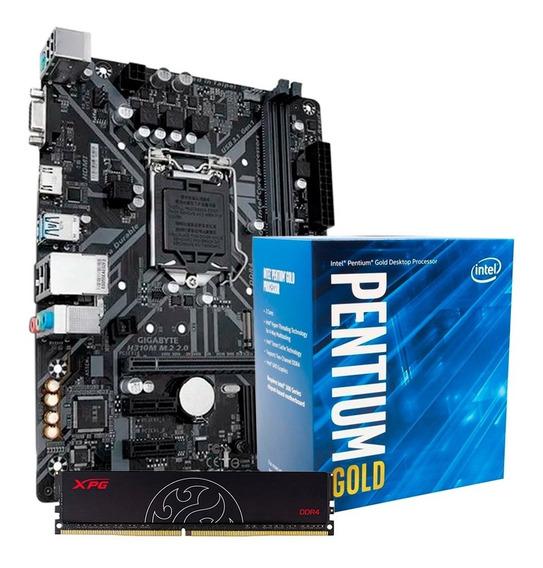 Combo Actualización Intel Pentium G5400 + H310m + 8gb Pce