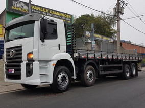 Vw 24330 8x2 Bitruck Carroceria Ñ Atego 2429 2430 24280