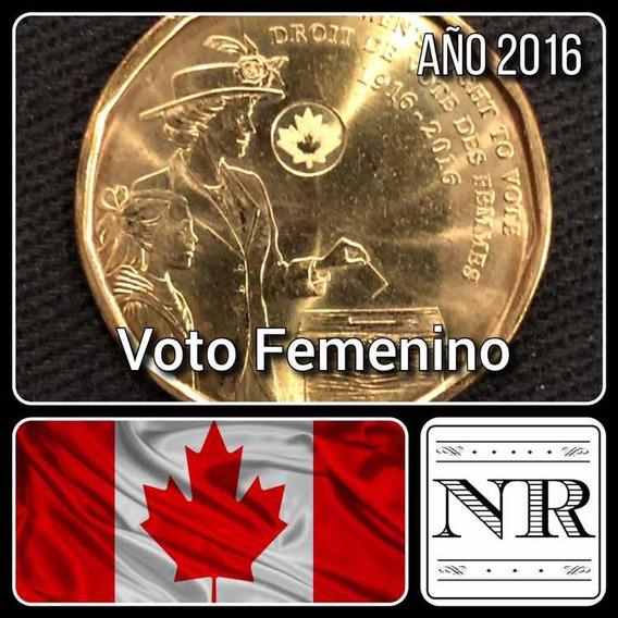 Canada - 1 Dolar - Año 2016 - Km #2102 - Voto Femenino