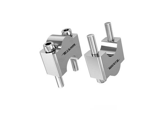 Anclaje Elevador Clamp Wirtz® Para Manubrio 22mm