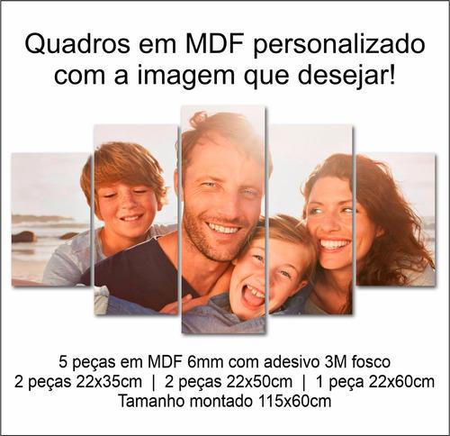 Quadros Decorativo Decoração Personalizados Com Foto Mdf 6mm