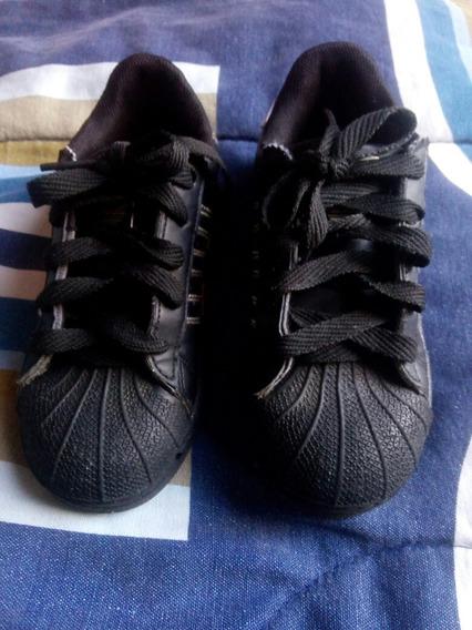 Zapatos Niños Unisex Marca adidas Super Estar