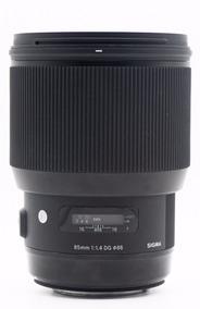 Lente Sigma Art 85mm F/1.4 Para Canon