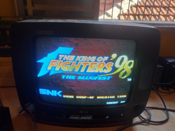 Neo Geo Mais Jogo King Of Fighters 98
