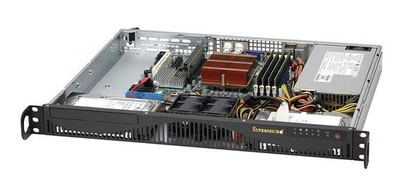 Servidor Supermicro Rack 1u 1245v6 16gb Ddr4 Ssd250gb