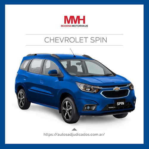 Chevrolet Spin 100% 42c Al Dia! Plan Difícil De Conseguir!
