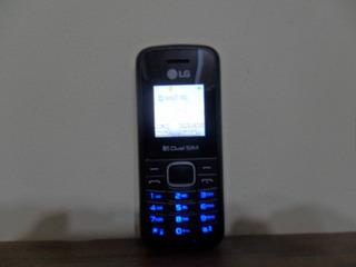 Celular Modelo Lg B220 Perfeito Dual Chip Com Lanterna