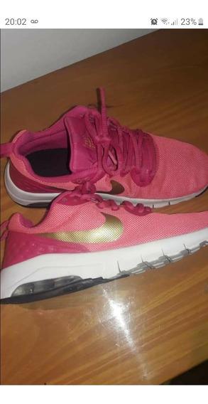 Zapatillas Nike Air Max Motion 35 De Nena Como Nuevas