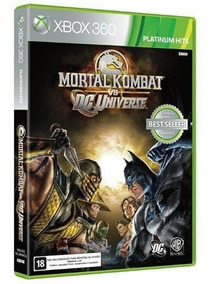 Jogo Mortal Kombat Vs Dc Universe Xbox 360 Midia Fisica