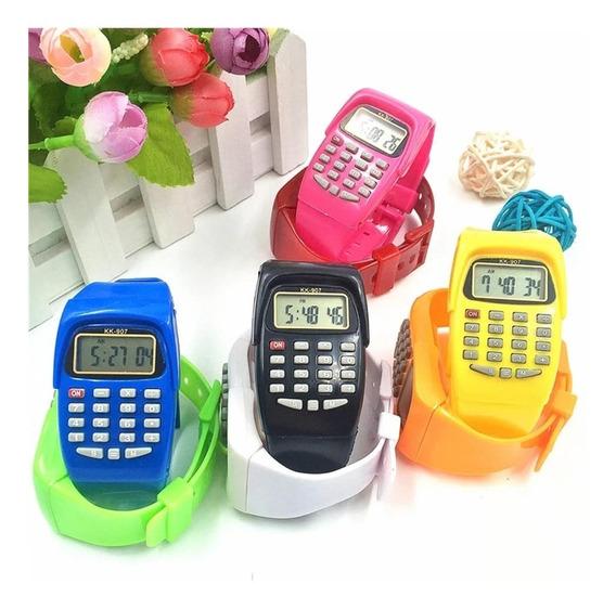 Relógio Digital Com Calculadora