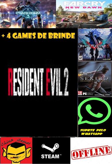 Resident Evil 2 Remake / Deluxe - + 4 Jogos