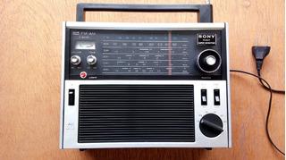 Rádio Antigo Sony Am Fm Oc