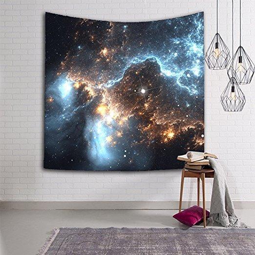Nebulosa Tapiz De Colores Hermosa Galaxias Cósmicos Y Deslum