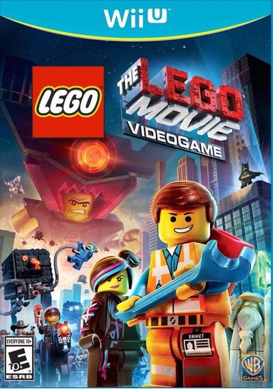 Wiiu - Lego Movie Videogame - Midia Fisica - Novo
