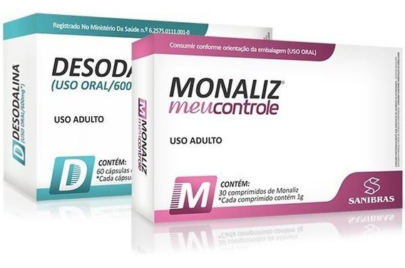 Kit Emagrecedor Desodalina + Monaliz - Sanibras