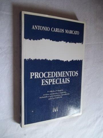 * Livro Antonio Carlos Marcato - Procedimentos Especiais
